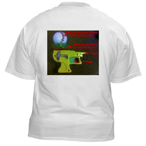 Respect the Gun of Baseball shirt